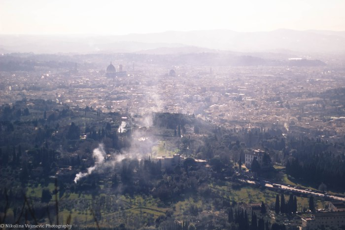 View from Fiesole, Florence, Italy